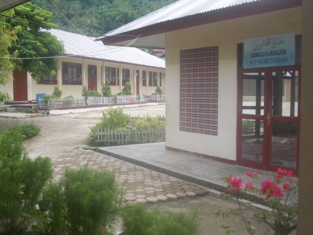Lokasi SMPN 35 Padang